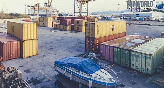 集装箱装载,海运出口