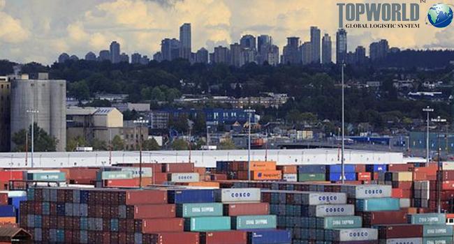 集装箱,海运出口