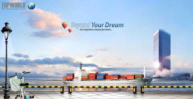 海运出口,空运进口,特普沃德国际物流,拼装箱