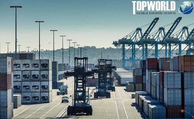 中美贸易战,洛杉矶港口,海运出口,国际物流,进出口物流,上海靠谱货代