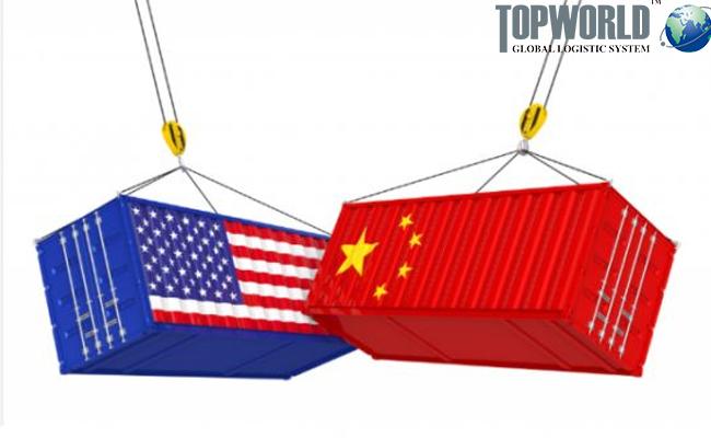 中美贸易战,美国出口货代,上海出口美国,门到门空运进口