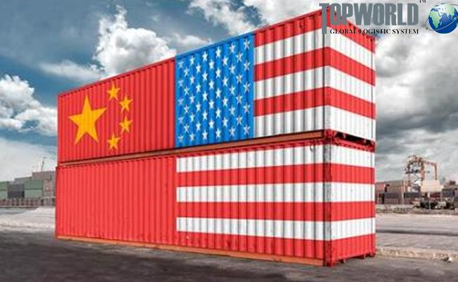 中美贸易战,进出口物流,进口上海货代,门到门进口