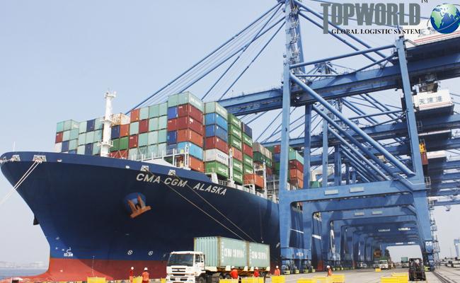 海运出口,国际物流,进出口物流,上海海运出口货代,门到门进口