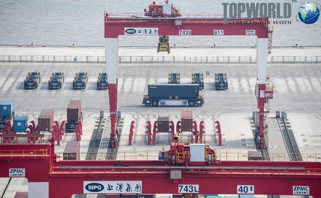 上海港提前实施排放控制