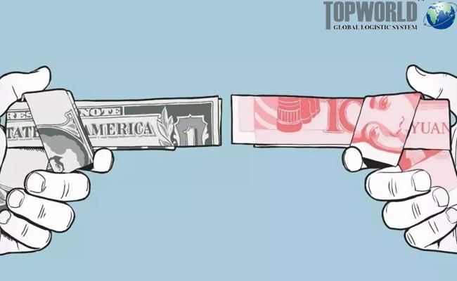 中美贸易战,上海靠谱货代,门到门空运进口