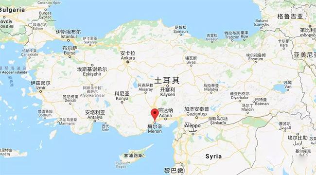 土耳其沿岸主要港口