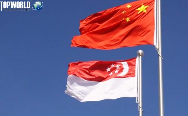 中国和新加坡签署《自由贸易协定升级议定书》