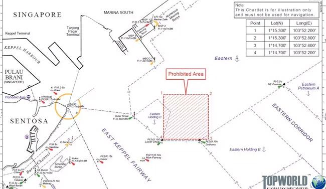新加坡海事局颁布港口临时禁令