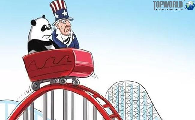中美贸易战,进出口物流,上海进口货代,门到门进口