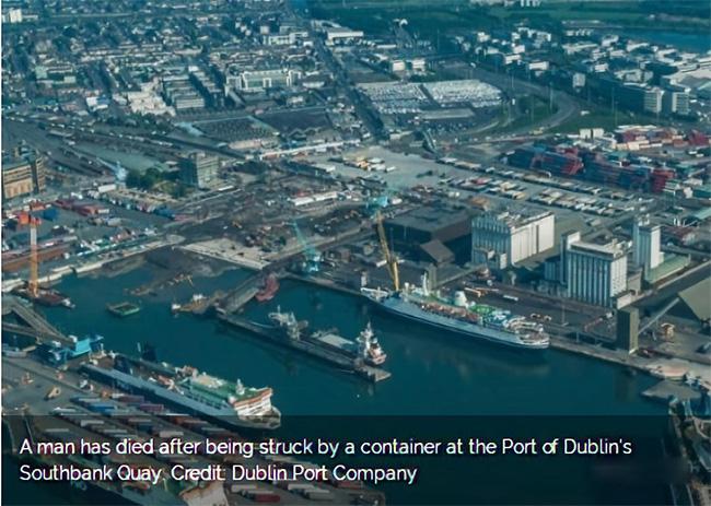 欧洲港口船舶发生意外外媒报道