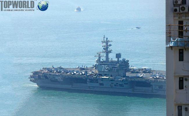 导弹巡洋舰相继抵港