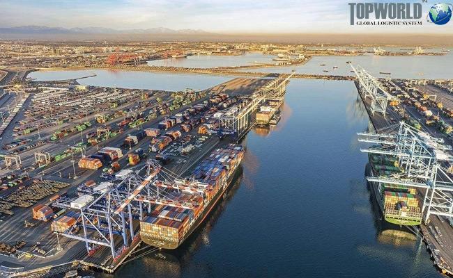 美国港进口吞吐量超过当前季节常规水平