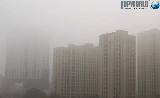 上海、宁波江浙等地近来大雾弥漫