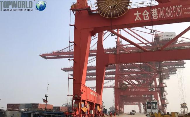 苏州港,海运出口,进出口物流