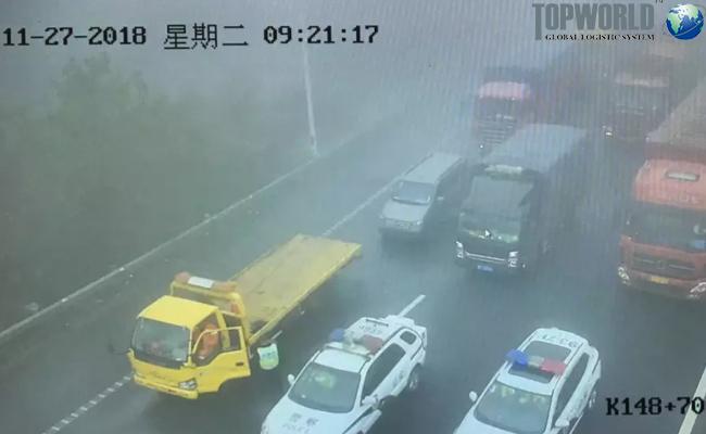 江浙沪大雾导致高速通行受阻