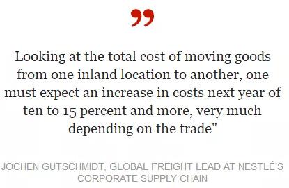 明年海运费将高涨