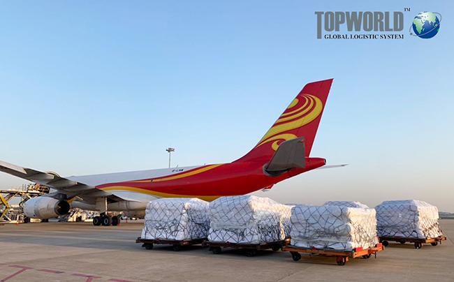 上海特普沃德国际物流承接包机,出口印尼防疫物资原材料,解您排舱之忧!